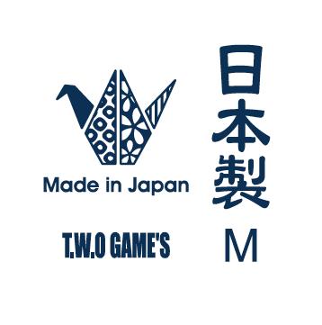 T.W.O-GAME'S日本製ロゴ