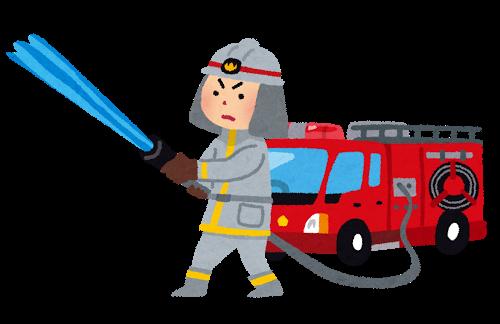消防士画像