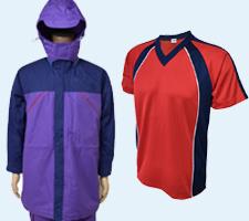 オリジナル防寒着やTシャツ画像