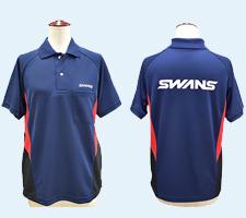 SWANS(山本工学)様ポロシャツ事例