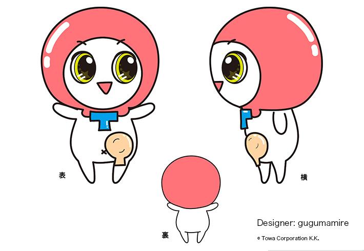 医療ケア製品向けキャラクター画像