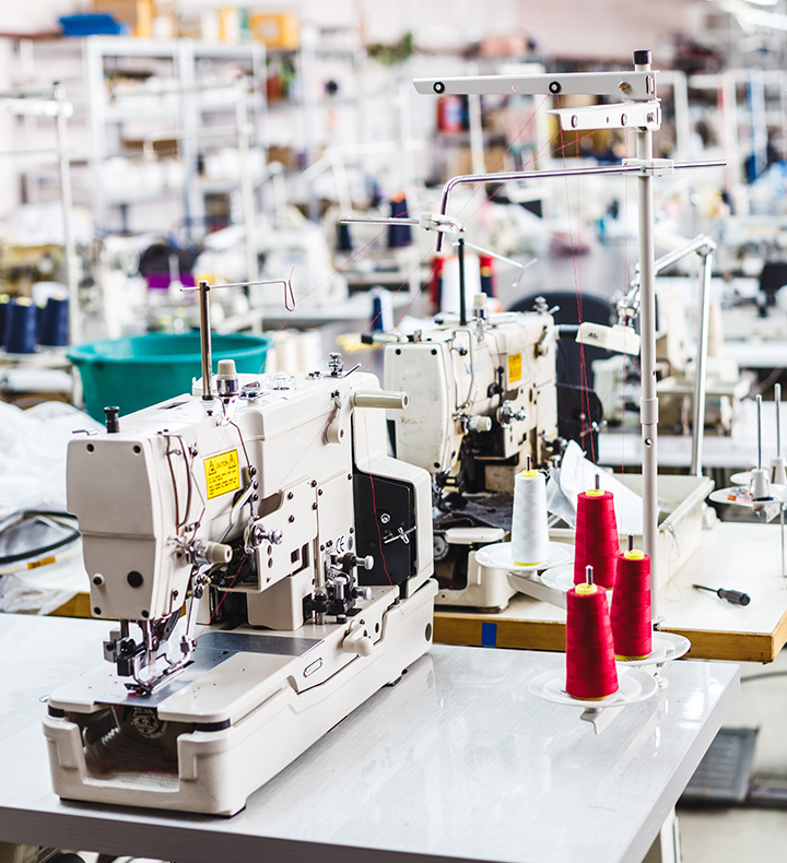 縫製工場画像