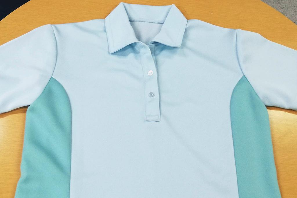 介護向けフルオーダーポロシャツの画像