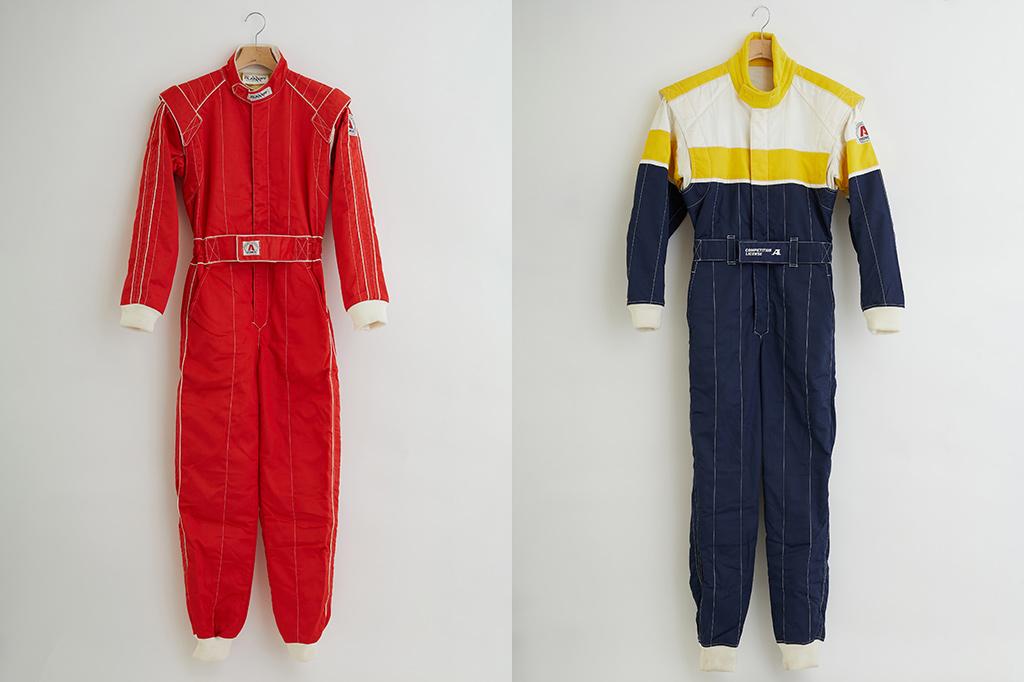 1980年代・1990年代のレーシング/カートスーツ画像