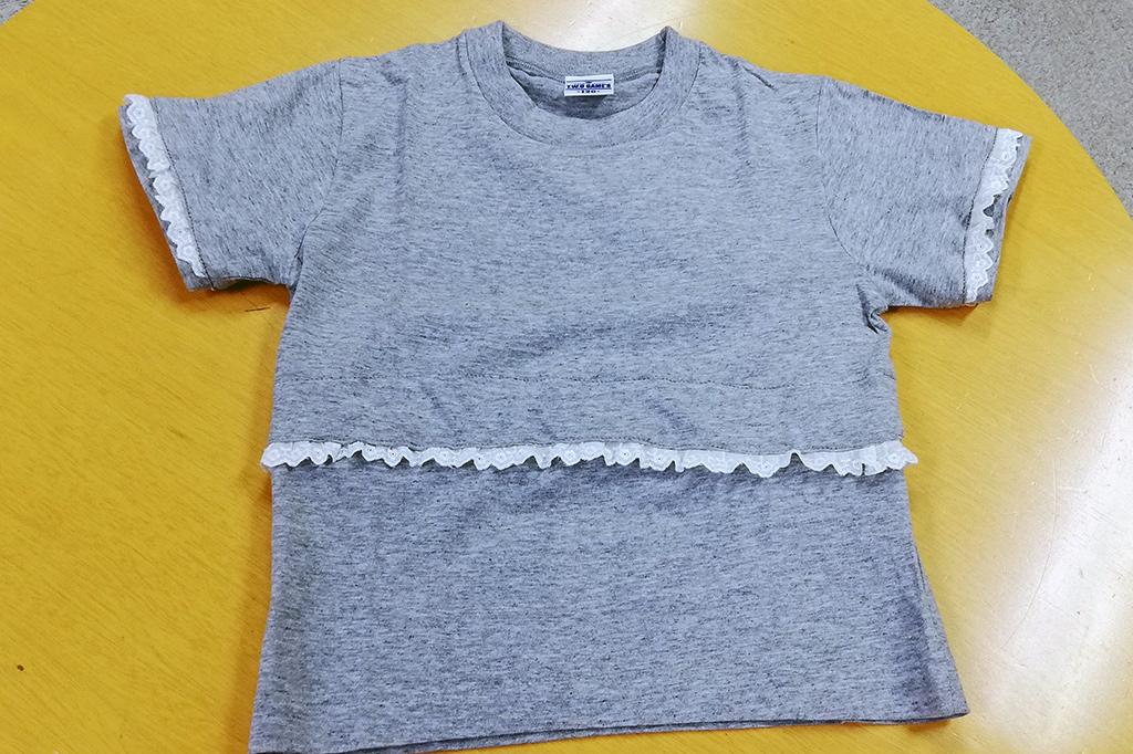 デコレーションTシャツクラフトセット試作画像
