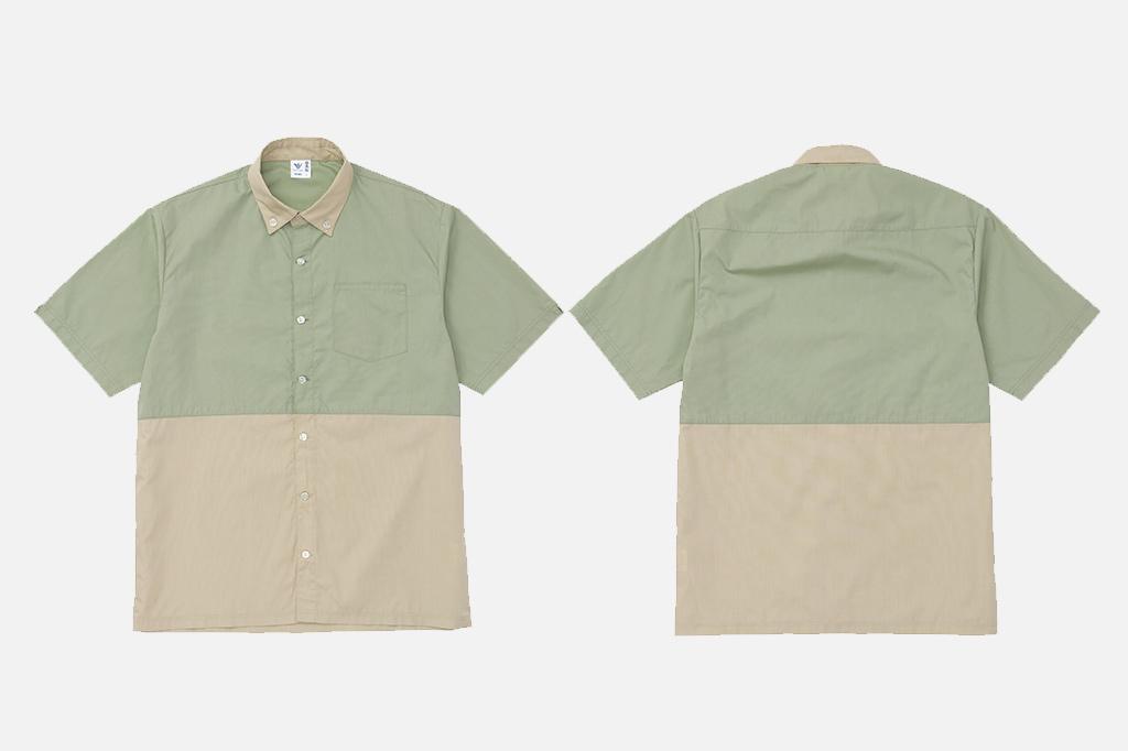 ロフト風半袖シャツ(5分袖シャツ)画像